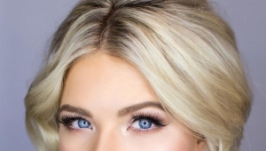 Makeup for blue eyes and blond hair