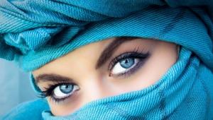 Maquillaje para ojos azules.