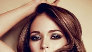 Make-up pre hnedé oči a tmavé vlasy