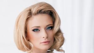 Okrúhly tvár make-up