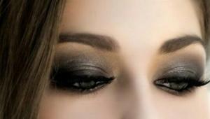 Smoky oči
