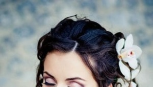 Bruiloft make-up voor brunettes