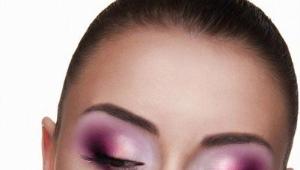 Techniques de maquillage des yeux