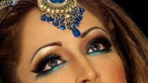 Orientálny make-up