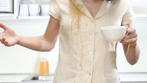 How to wash coffee with white and colored clothes?