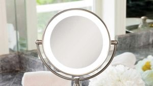 Miroir de table avec éclairage: avantages et inconvénients