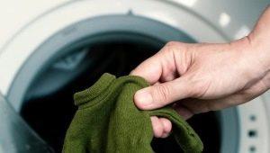Comment laver un tricot qu'elle a assis?