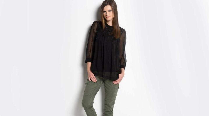 Pantaloni de khaki pentru femei