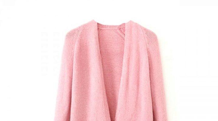 Cardigan rose: images à la mode