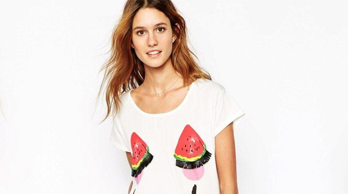 Las camisetas más elegantes para chicas y mujeres.