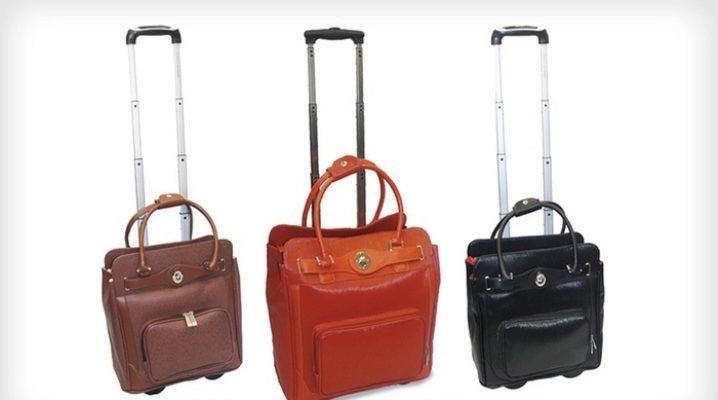 Bolsas de viaje sobre ruedas.