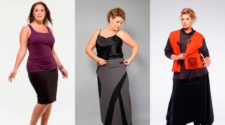 Jupes d'été pour femmes obèses