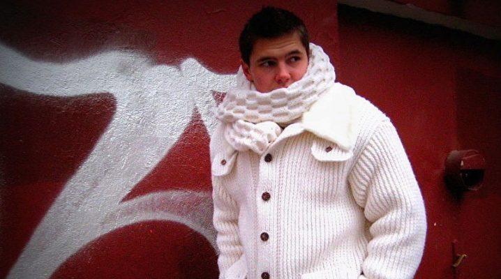 Vestes blanches pour hommes