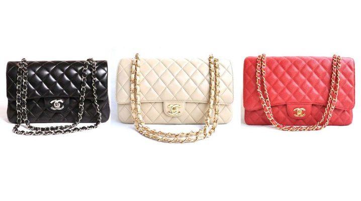 Chanel bolso en una cadena - la personificación del buen gusto