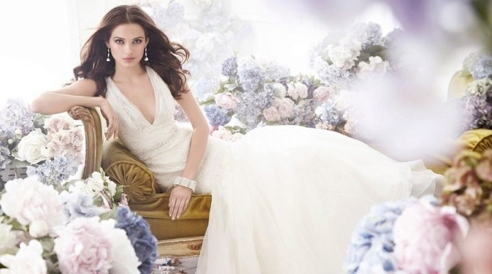 Vestido de novia de estilo imperio