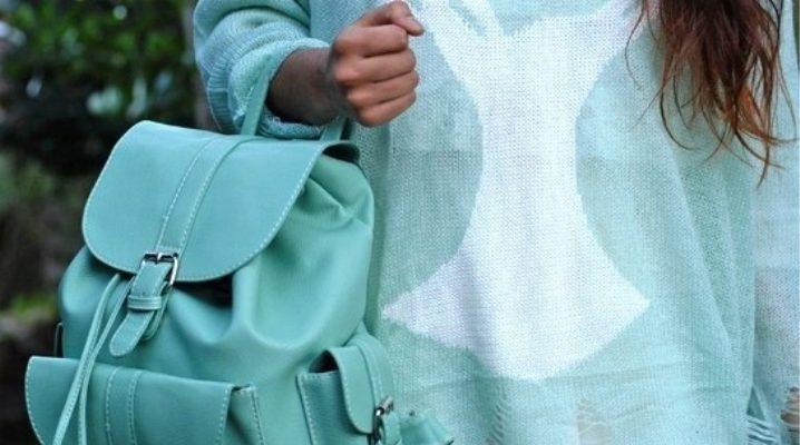 Bolsos de cuero de mujer, mochilas ya están de moda!