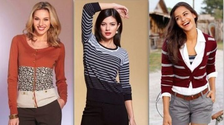 Différences veste, cardigan, pull et veste