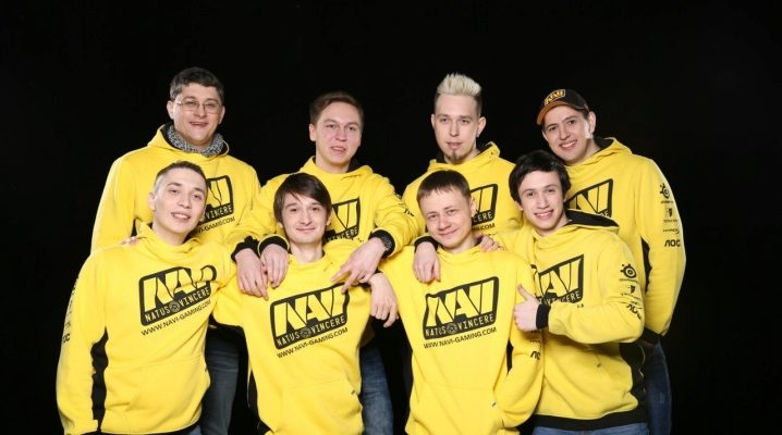 NaVi sweatshirt with the champion's Star Ladder logo