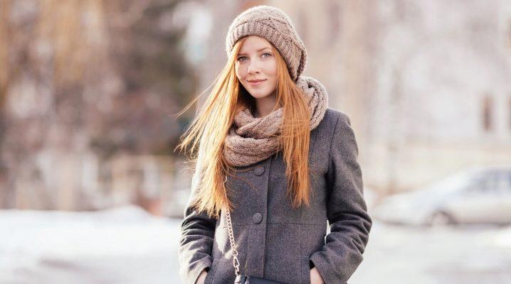 Quanto è bello legare una sciarpa a un cappotto?