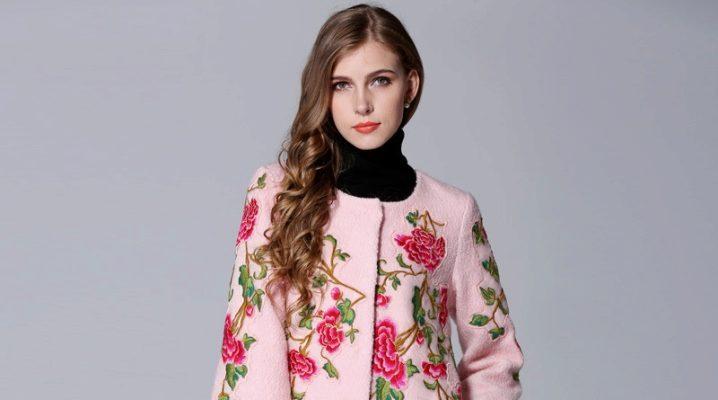 Il cappotto con ricamo è il modo migliore per mostrare l'individualità.