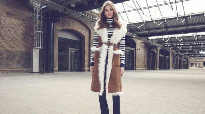 Cosa indossare un cappotto senza maniche?