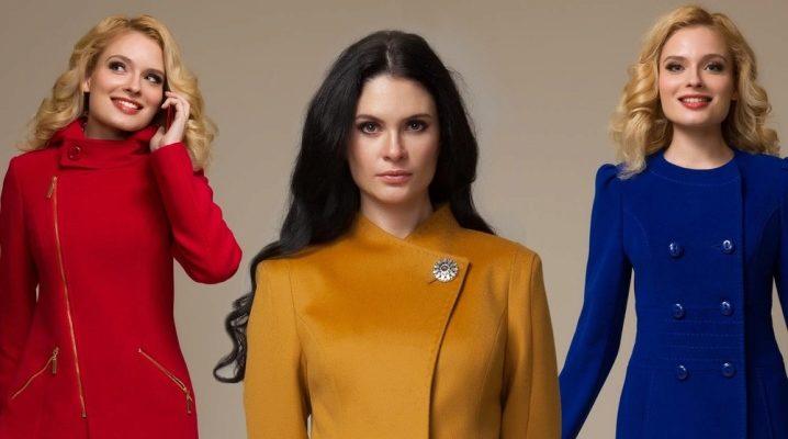Cappotti da donna della fabbrica di Mosca Aurora