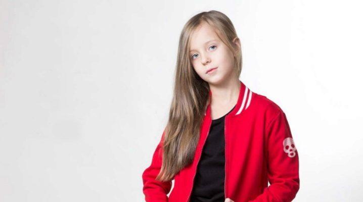 Bomber Jacket pentru fete și fete adolescente
