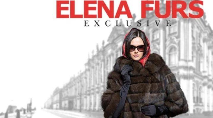 Kot bulu dari Elena Furs