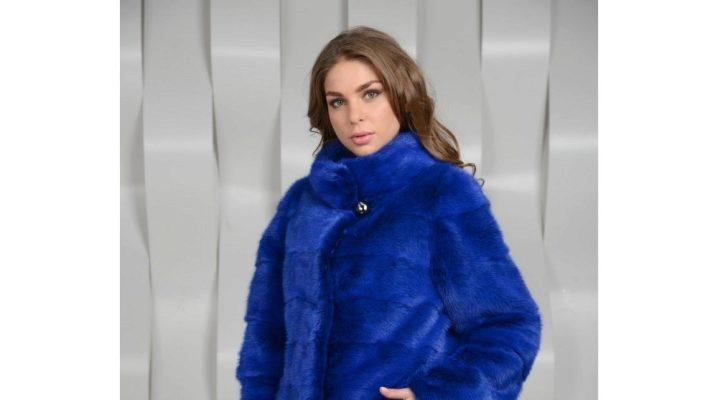 Jaket biru - untuk keperibadian terang!