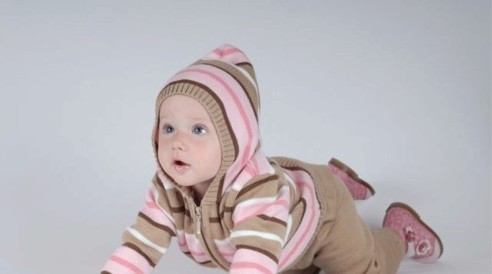 Knitted children's costumes