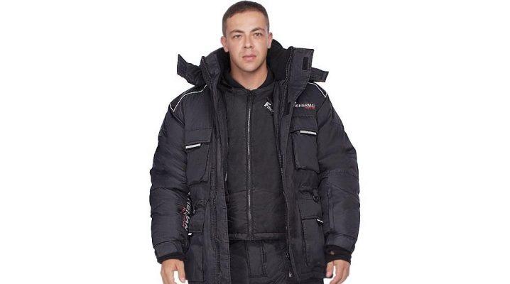 Costume d'hiver pour la pêche et la chasse