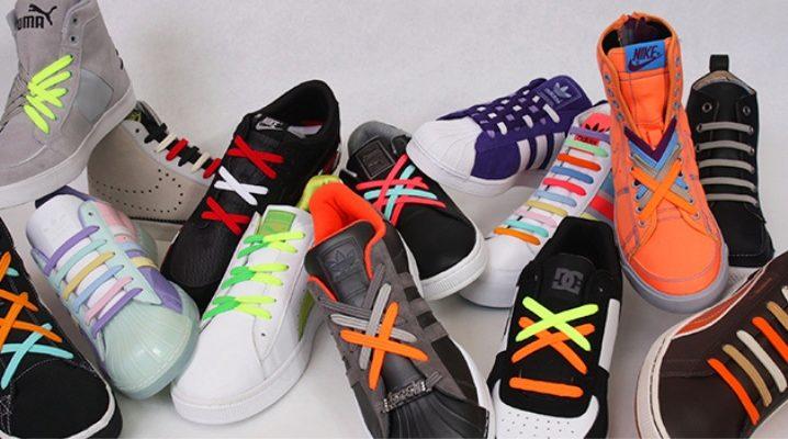 Comme c'est beau des chaussures à lacets - des manières originales