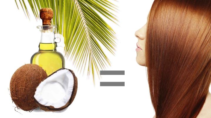 Kokosová oprava masiek na vlasy