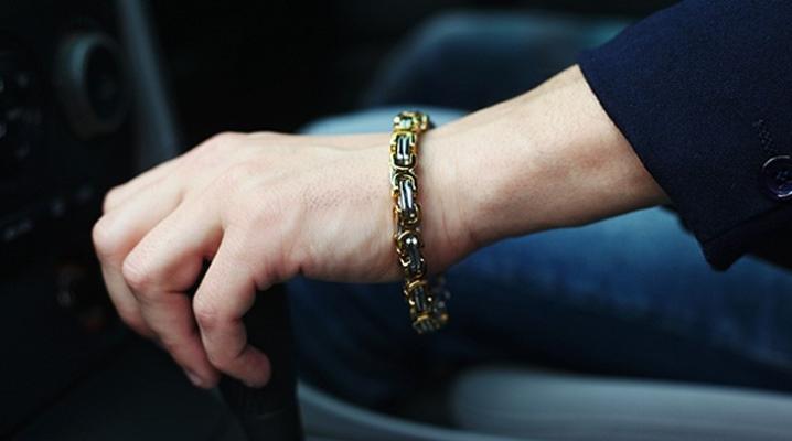 Bracelet Rage en acier