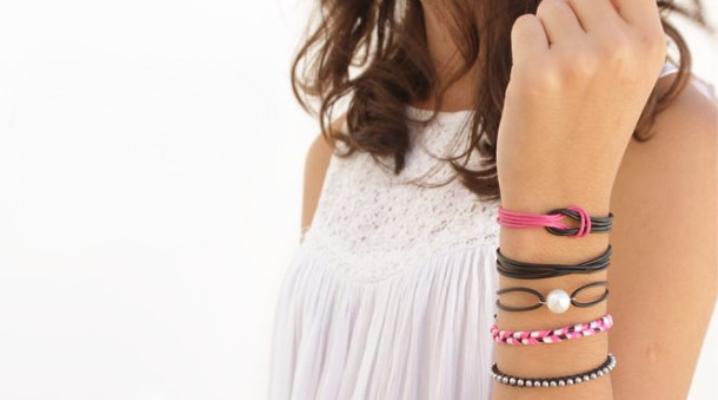 Bracelets De Dentelle