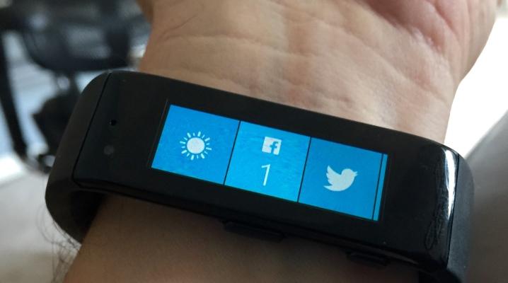 Bracelet de fitness pour Windows Phone