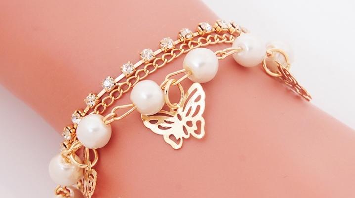 Pendentif bracelet en or