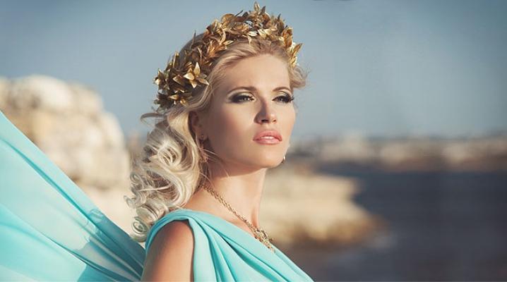 Maquillaje griego