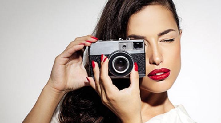 Make-up voor een fotoshoot
