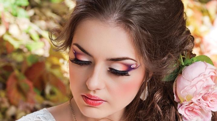Zöld szem Prom smink