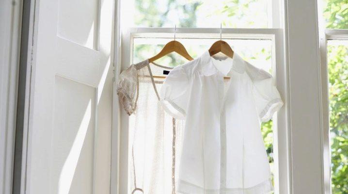 Comment laver les choses blanches vous-même?