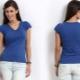 Tricouri albastre
