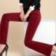 Pantaloni di velluto a coste