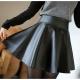 Comment porter une jupe en cuir?