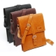 Leather bag-tablet for men and women