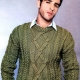 Men's knitted sweaters