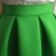 De quoi porter une jupe en néoprène?