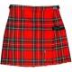Jupe écossaise dans la garde-robe des fashionistas