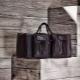 Stylish leather travel bags