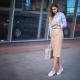 Jupe crayon - tendances de la mode 2019